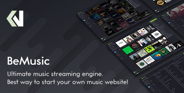 BeMusic - Music Streaming Engine by Vebto | CodeCanyon