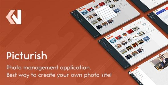 Picturish - Image hosting, editing and sharing by Vebto   CodeCanyon