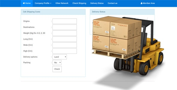 Cargo Management Software - CodeCanyon Item for Sale
