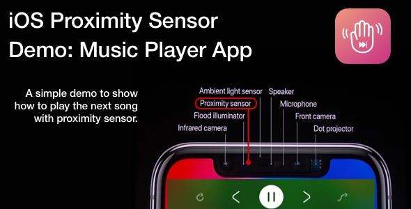 iOS Proximity Sensor - Player App Demo