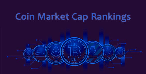 Coin Market Cap Rankings | JavaScript Crypto Plugin | Single Page Application