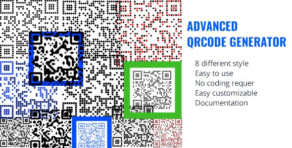 Advanced QRCODE Generator