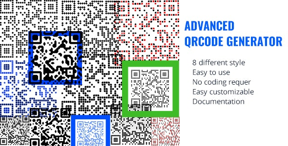 Advanced QRCODE Generator - CodeCanyon Item for Sale