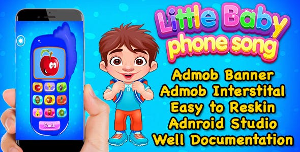 Little Baby Phone - Pre School Education Fun Game For Kids - Android
