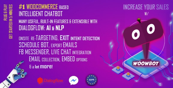 ChatBot for WooCommerce - Retargeting, Exit Intent