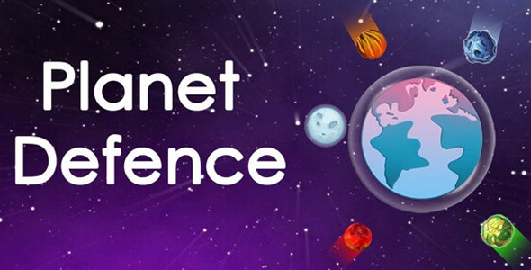 Planet Defense Unity Game - CodeCanyon Item for Sale