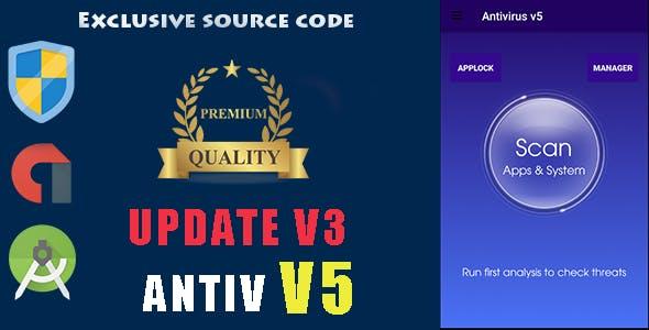 Antivirus v5 + Applock + Booster + Cleaner + AppManager ---update v3---