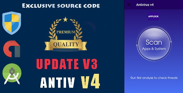 Antivirus + Applock + Booster + Cleaner ---update v3---