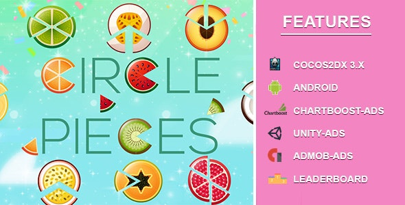 Bits 'n' Pieces – Circle Slice - CodeCanyon Item for Sale