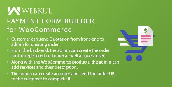 Payment Form Builder Plugin for WooCommerce