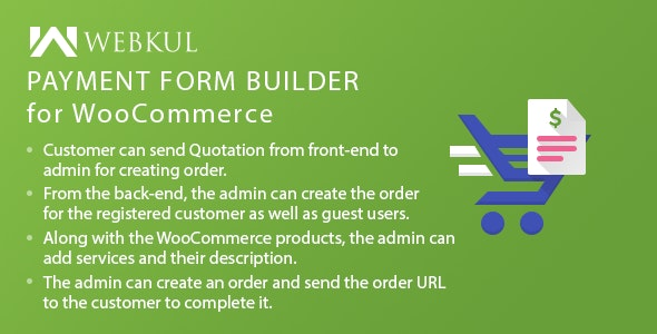 Payment Form Builder Plugin for WooCommerce - CodeCanyon Item for Sale