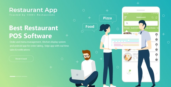 Restaurant POS System - Android by samyotech | CodeCanyon