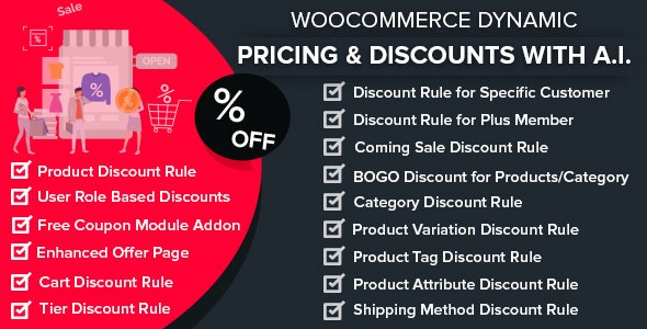 WooCommerce Dynamic Pricing & Discounts with AI - CodeCanyon Item for Sale