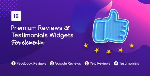 Premium Reviews & Testimonials Widgets for Elementor