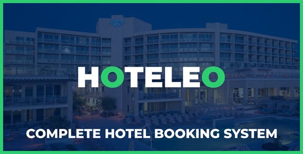 Hoteleo - Complete Hotel Booking System