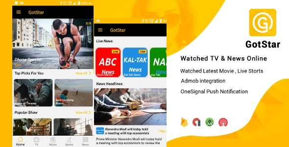 GotStar - Live Streaming / Live TV - Watch TV Shows, Movies