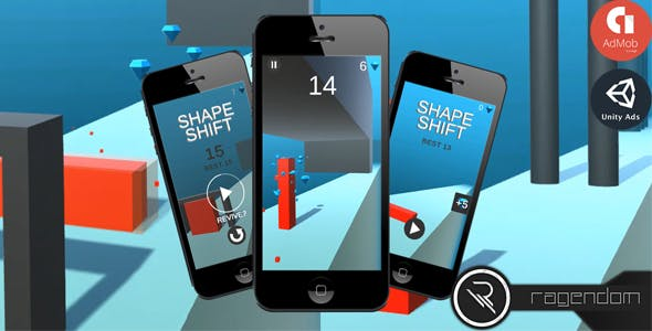 Shape Shift - Complete Unity Game + Admob