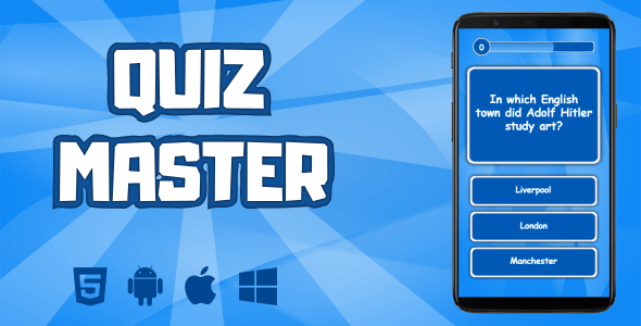 Quiz Master - CodeCanyon Item for Sale