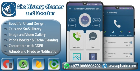 Abc History Cleaner and Booster - CodeCanyon Item for Sale