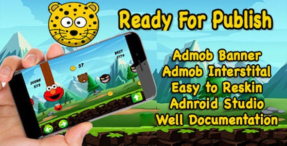 Animal Zoo Adventure - Rolling Animal - Unsolved Endless Game - Game For Kids - Android Studio