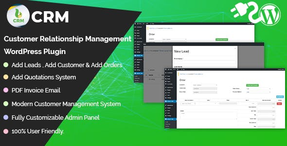 Bdtask CRM - Customer Relationship Management WordPress Plugin