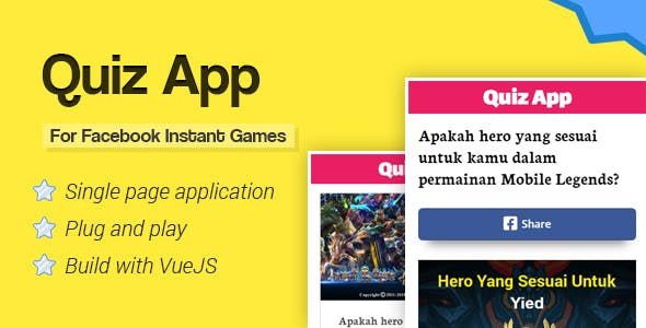 Quiz App for Facebook Instant Games