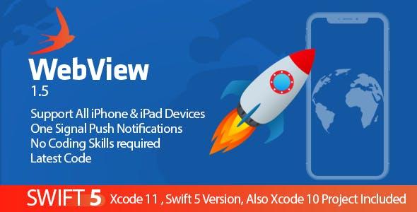 WebView Swift App - Push Notification , Swift