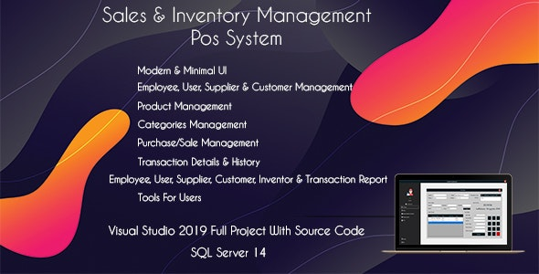 Shop POS - Sales and Inventory Management (POS System) - CodeCanyon Item for Sale