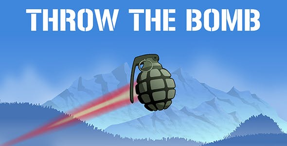 Throw The Hand Grenade - as far as you can - kaboom - ready for release casual Unity3D game