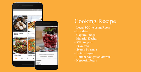 Cooking Recipe Template
