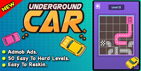Underground Car + Best Car Parking Puzzle Game For IOS