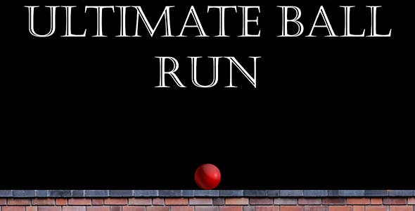 Ultimate ball run - avoid boxes and score as much as you can - hyper casual Unity3D game template