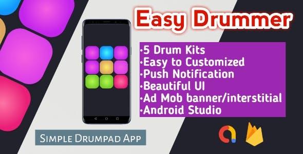 Easy Drummer-Drumpad App