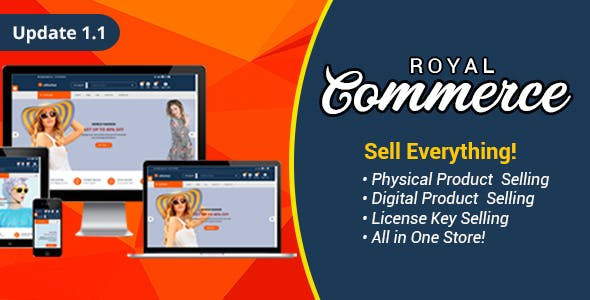 RoyalCommerce - Laravel Ecommerce System with Physical and Digital Product Selling