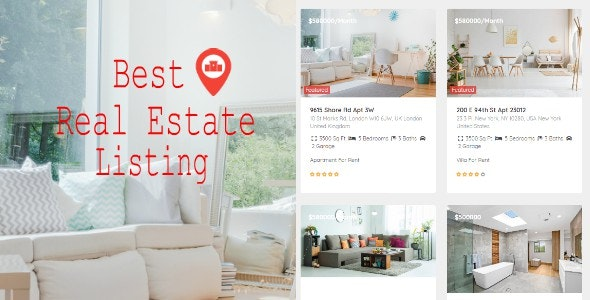Real Estate Pro WordPress Plugin By E Plugins Codecanyon