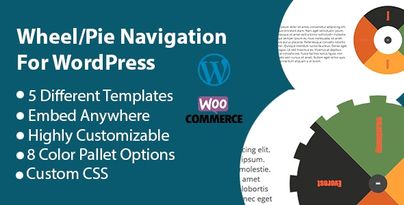 Spider Wheel Navigation or Tabs For Wordpress - CodeCanyon Item for Sale