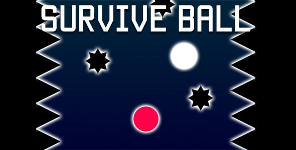 Survive Ball - HTML5 Game (CAPX)