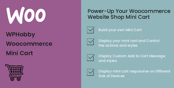 WPHobby WooCommerce Mini Cart - CodeCanyon Item for Sale