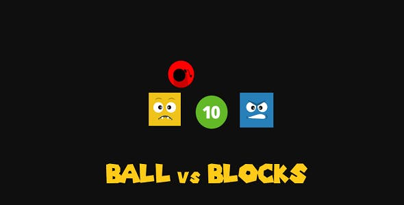 Ball vs Blocks (Construct 3 Game)