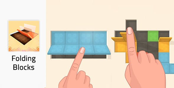 Folding Blocks - Unity Game
