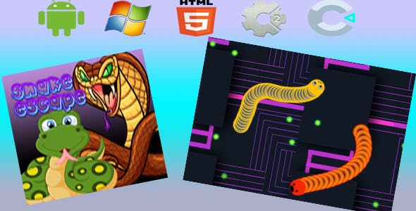 Snake Escape - Html5 Game (Capx)