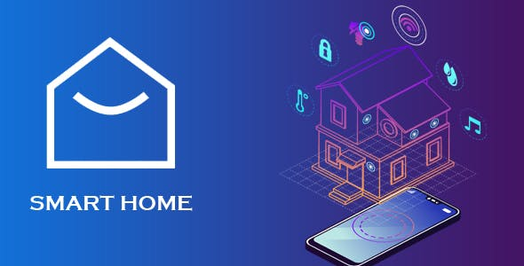 Smart Home App - UI/UX Template