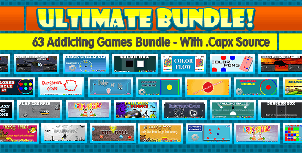 Addicting Games Bundle - 63 Games