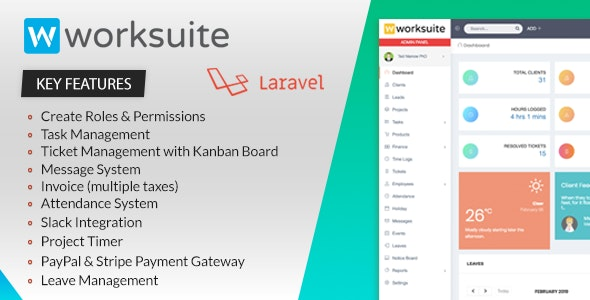WORKSUITE - Project Management System by ajay138 | CodeCanyon
