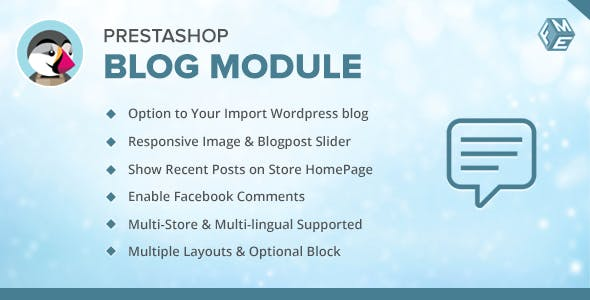 Prestashop Blog Module - Responsive & SEO Friendly Blog