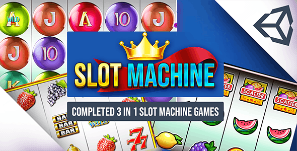 Slot Machine- Combo 3 In 1 Unity Casino Game - CodeCanyon Item for Sale