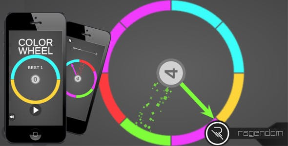Color Wheel – Complete Unity Game + Admob