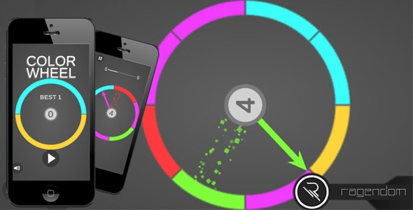Color Wheel – Complete Unity Game + Admob - CodeCanyon Item for Sale