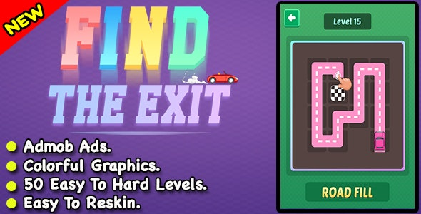 Find The Exit + Best Car Puzzle Game - CodeCanyon Item for Sale