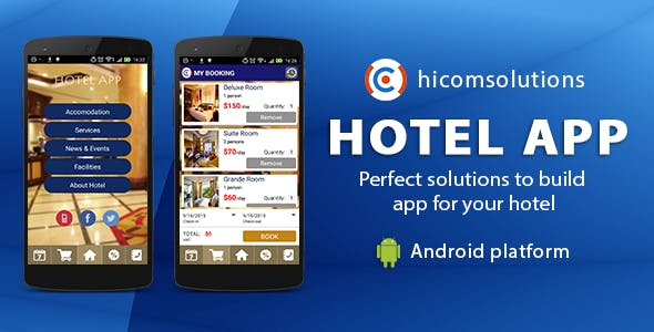Hotel Mobile App Template - Android